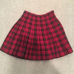 Vintage 90s schoolgirl skirt